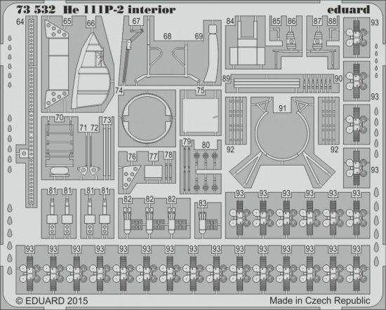 Eduard He 111P-2 interior S.A. (Airfix)