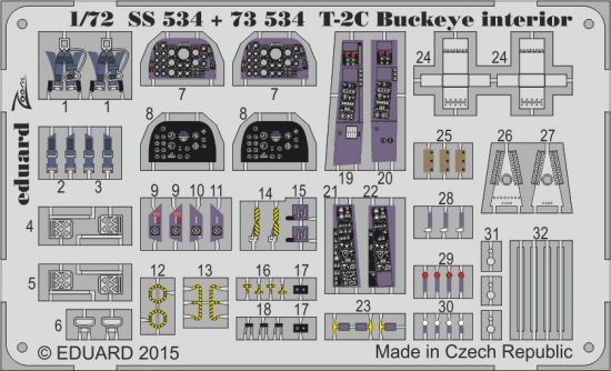 Eduard T-2C Buckeye (Wolfpack)