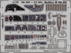 Eduard Halifax B Mk. III interior (Revell)