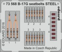 Eduard B-17G seatbelts STEEL (Airfix)