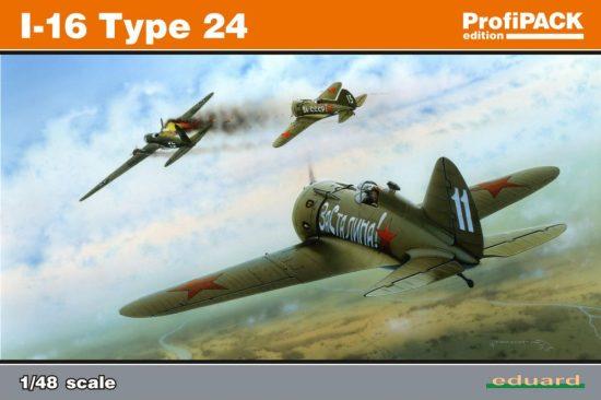 Eduard I-16 type 24 makett