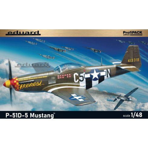Eduard P-51D-5 Mustang makett