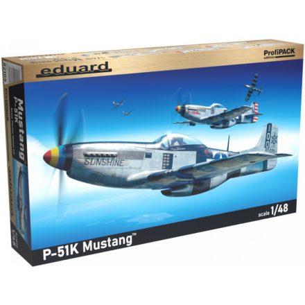 Eduard P-51K Mustang makett
