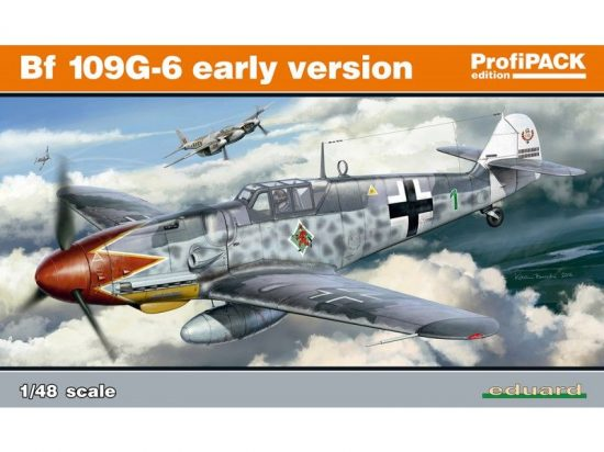 Eduard Bf 109G-6 early version Profipack makett