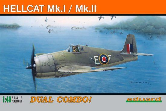 Eduard Hellcat Mk.I/II makett
