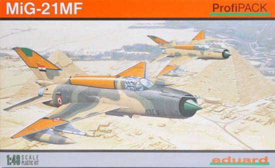 Eduard MiG-21MF ProfiPack Reedition makett