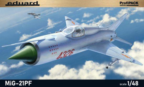 Eduard MiG-21PF makett