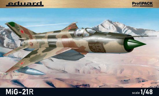Eduard MiG-21R makett