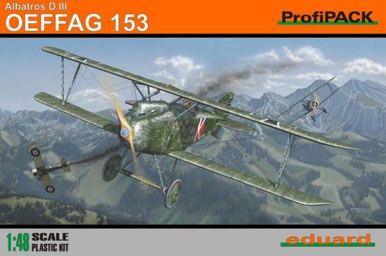Eduard Albatros D.III Oeffag 153 ProfiPACK makett