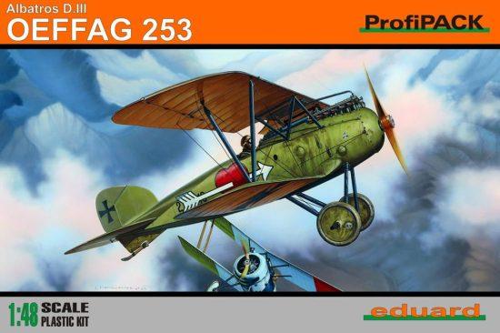 Eduard Albatros D.III OEFAG 253 Profipack makett