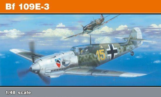 Eduard Bf 109E-3 ProfiPack makett