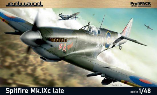 Eduard Spitfire Mk.IXc late version ProfiPack makett