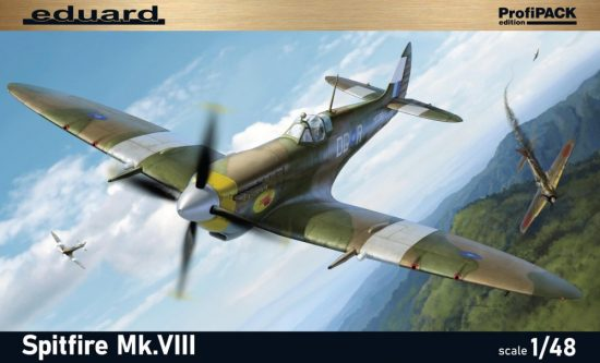Eduard Spitfire Mk. VIII Profipack makett
