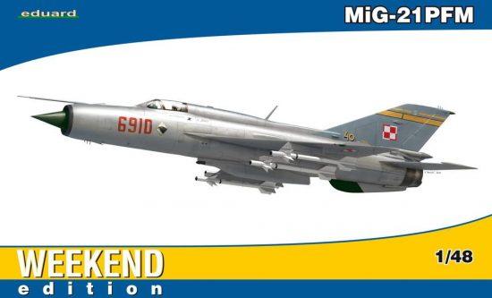 Eduard MiG-21 PFM Weekend makett