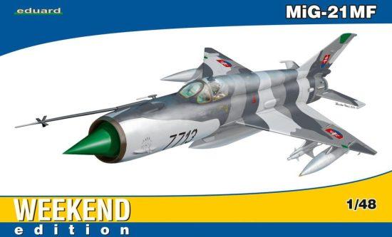 Eduard MiG-21MF makett