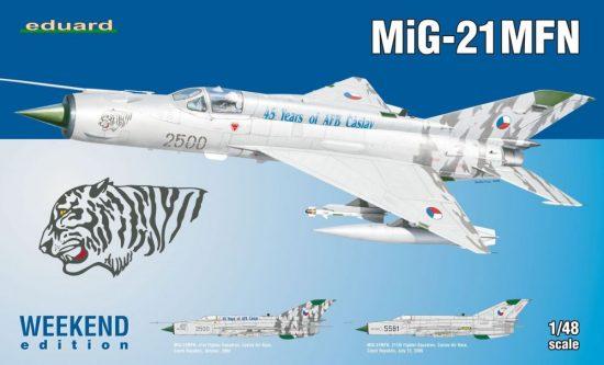 Eduard MiG-21MFN makett