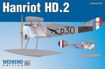 Eduard Hanriot HD.2 makett