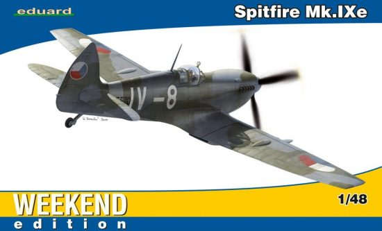Eduard Spitfire Mk.IXe makett