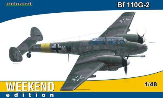 Eduard Bf 110G-2 Weekend makett