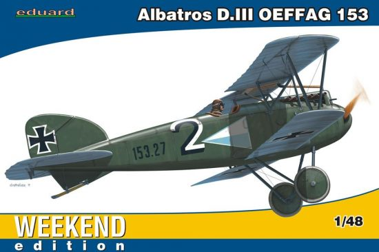 Eduard Albatros D.III OEFFAG Weekend makett
