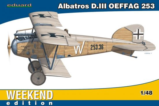 Eduard Albatros D.III OEFFAG 253 Weekend makett