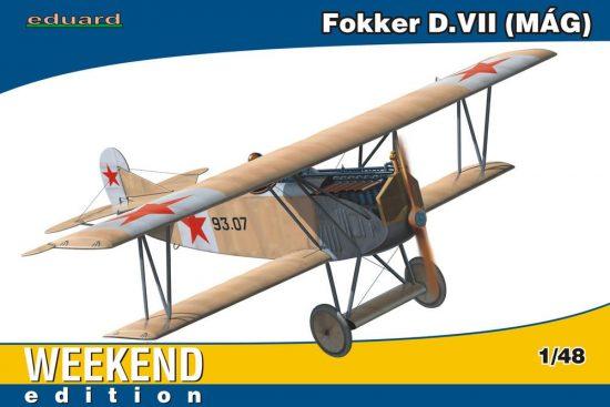 Eduard Fokker D.VII MAG Weekend makett