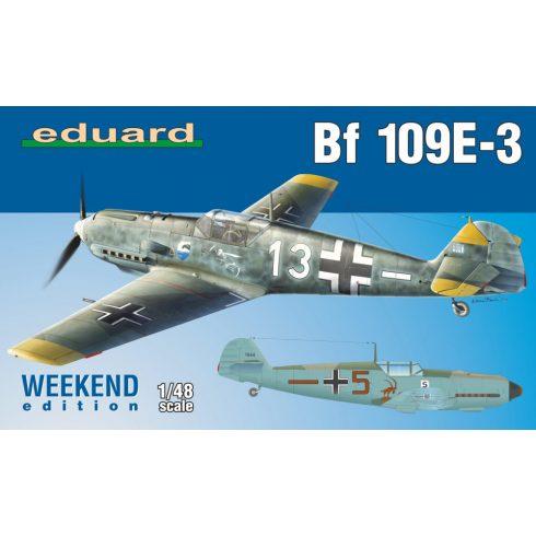 Eduard Bf 109E-3 makett