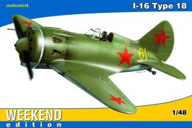 Eduard I-16 Type 18 for Weekend