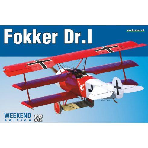 Eduard Fokker Dr. I makett