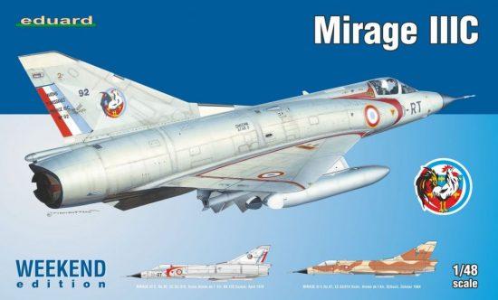 Eduard Mirage IIIC makett