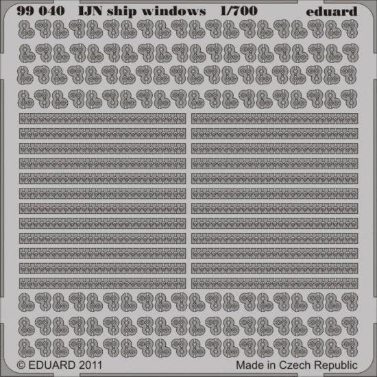 Eduard IJN ship windows