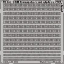 Eduard German doors and windows WWII