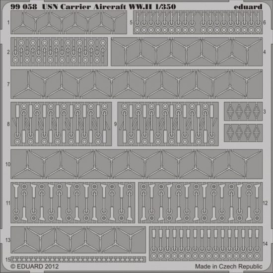 Eduard USN Aircraft accessories WWII