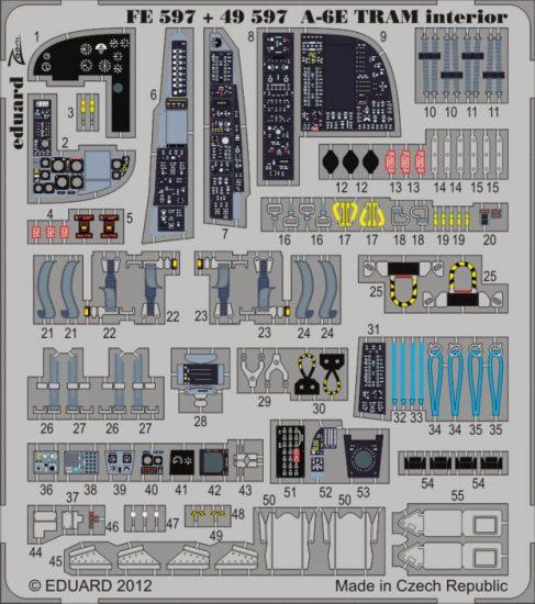 Eduard Big Ed A-6E TRAM (Kinetic Model)