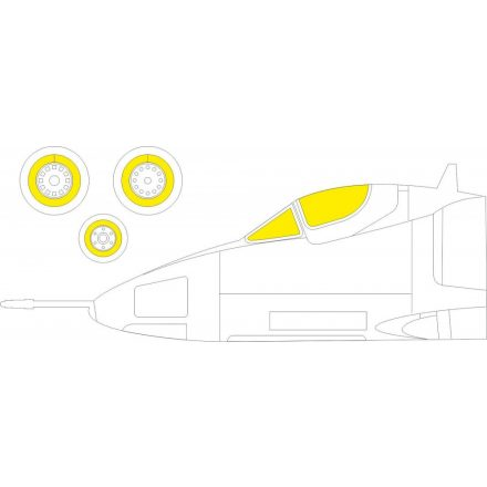 Eduard A-4E (Fujimi, Hobby 2000) maszkoló