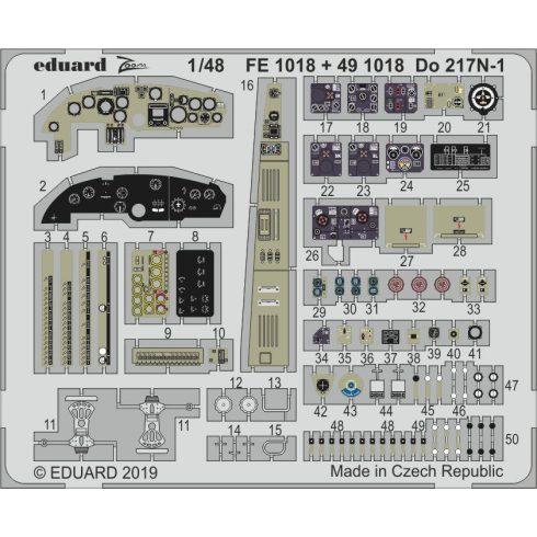 Eduard Do 217N-1 (ICM)