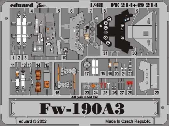 Eduard Fw 190A-3 (Tamiya)