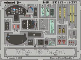 Eduard MiG-15 Fagot (Trumpeter)