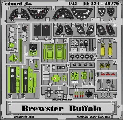 Eduard Brewster Buffalo (Tamiya)