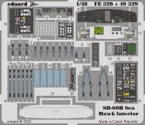 Eduard SH-60B interior (Italeri)