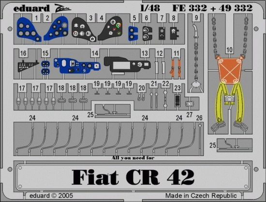 Eduard CR 42 Falco (Italeri)
