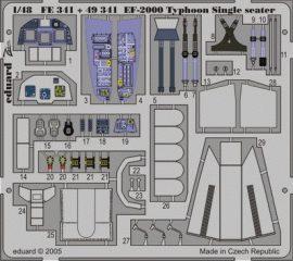 Eduard EF-2000 Typhoon Single Seater (Italeri)