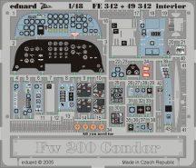 Eduard Fw 200 Condor interior (Trumpeter)