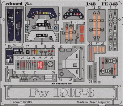 Eduard Fw 190F-8 (Tamiya)