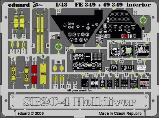 Eduard SB2C-4 (Revell)