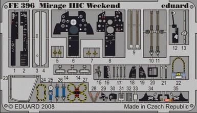 Eduard Mirage IIIC Weekend (Eduard)