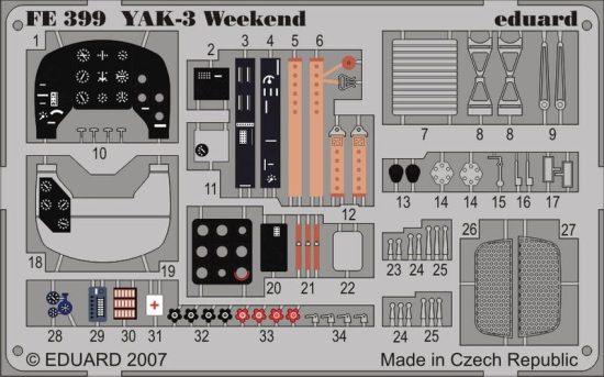 Eduard YAK-3 Weekend (Eduard)