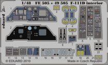 Eduard F-111D interior S.A. (Hobby Boss)