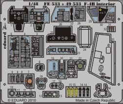 Eduard F-4B interior S.A. (Hasegawa)