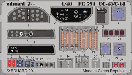 Eduard UC-43/C-18 S.A. (Roden)